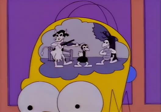Watch and share Homer Simpson Inside Head - You Have My Undivided Attention GIFs on Gfycat