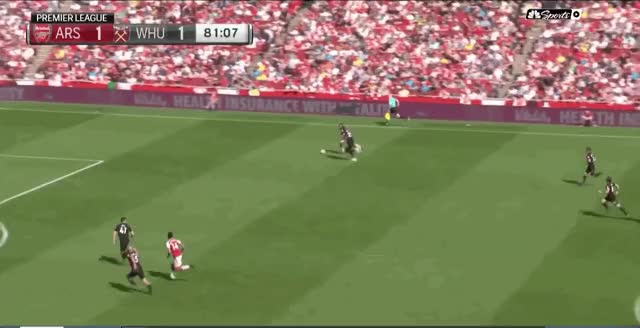 Watch 100 Ramsey GIF by @arsenal_goals on Gfycat. Discover more related GIFs on Gfycat