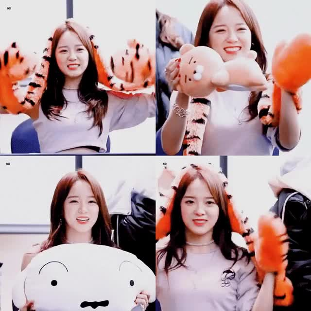 Watch and share Sejeong GIFs by 9 on Gfycat