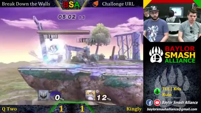 Watch Break Down the Walls - Winner's Finals - QTwo (Mewtwo) vs KinGly (Sheik) GIF by @kingly98 on Gfycat. Discover more SSBPM GIFs on Gfycat