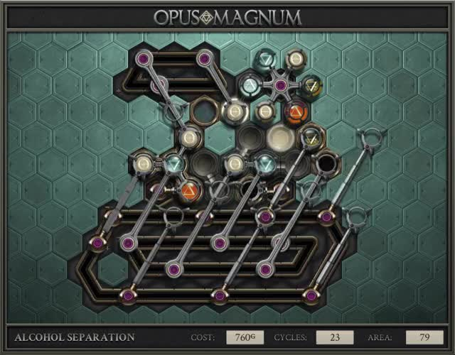 Watch and share Opus Magnum - Alcohol Separation - 2017-10-22-00-23-01.gif GIFs on Gfycat