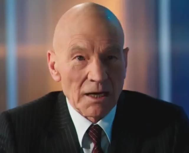 Watch and share Patrick Stewart GIFs and Shocked GIFs by George Rios on Gfycat
