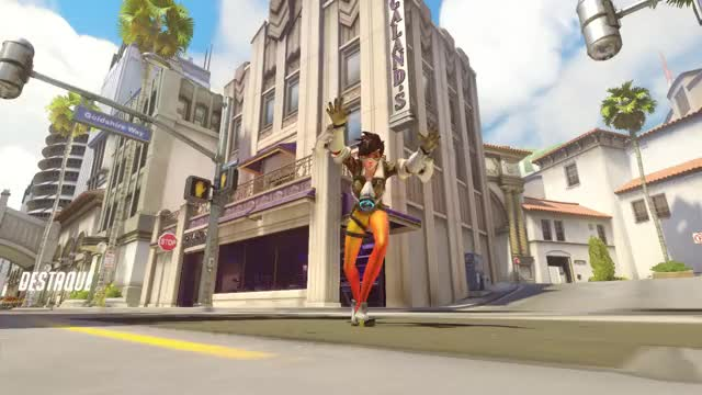 Watch Tracer GIF on Gfycat. Discover more Overwatch, Tracer GIFs on Gfycat