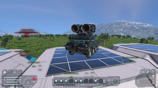 Watch and share Space Engineers - Twinhydro Mobile SAM GIFs by alysius on Gfycat