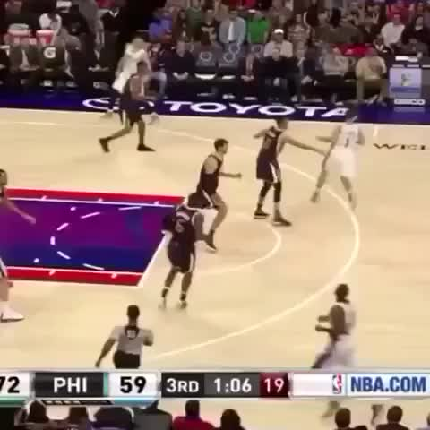 Watch and share Joel Embiid GOT EM!! GIFs by catracho on Gfycat