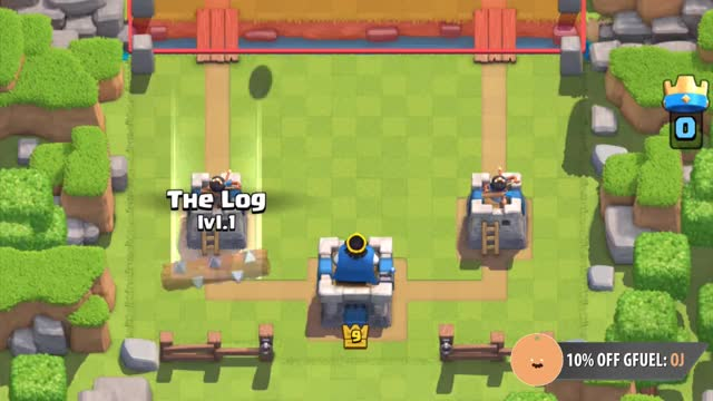 Watch and share Clash Royale | Log Timing :: Goblin Barrel GIFs on Gfycat