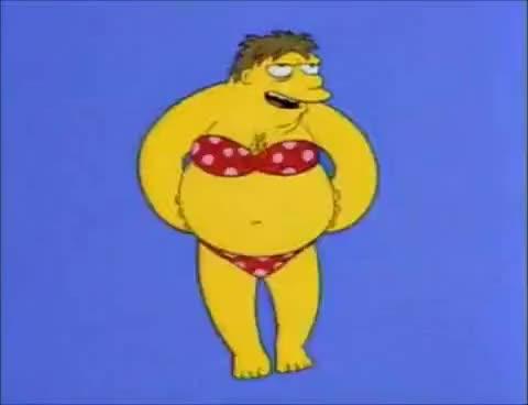 Watch and share Barney Bikini GIFs on Gfycat