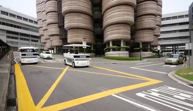 Watch and share NTU Driverless Bus GIFs on Gfycat