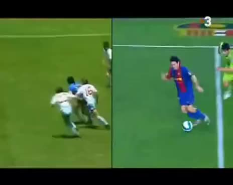 Watch and share Messi VS Maradona GIFs on Gfycat