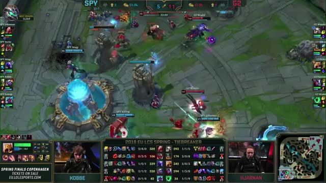 Watch and share SPY Vs. G2 - EU LCS Week 9 Day 2 Match Highlights (Spring 2018) GIFs on Gfycat