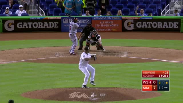 Watch and share Giancarlo Stanton Catch Aug. 2 GIFs by Baseball America on Gfycat