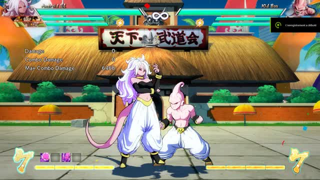 Watch and share Android 21 Mixups GIFs by Hero on Gfycat