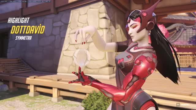Watch and share Overwatch GIFs and Symmetra GIFs by Miss Chanel on Gfycat