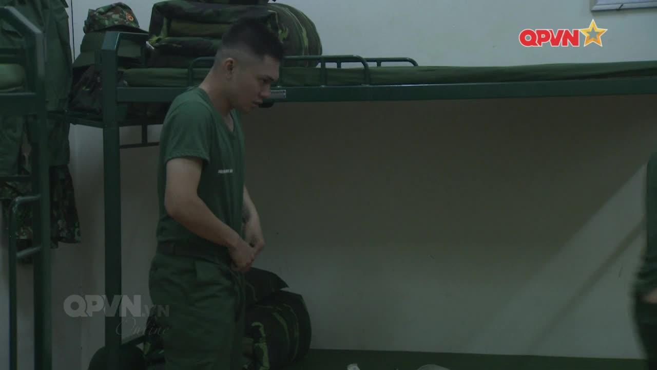 Mải mê tắm gội, Hoàng Tôn  Gin Tuấn Kiệt gây họa lớn ngay ngày đầu nhập ngũ