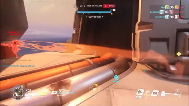 Watch tracer gets sandwiched GIF on Gfycat. Discover more epic, overwatch GIFs on Gfycat