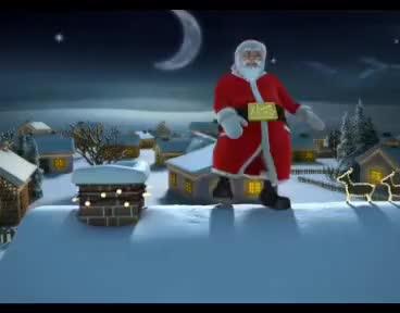 Watch and share Feliz Navidad Nos Desea Santa Claus GIFs on Gfycat