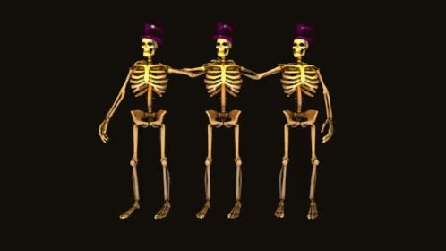 Watch and share Skeleton Dancing GIFs on Gfycat