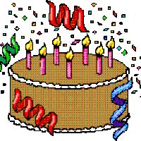 Watch and share Birthday Cakes animated stickers on Gfycat