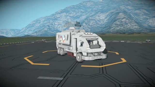 Watch and share Space Engineers Food Truck Test 2 GIFs by vanubahn on Gfycat