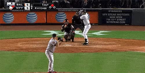 Watch derek jeter final at bat GIF on Gfycat. Discover more related GIFs on Gfycat