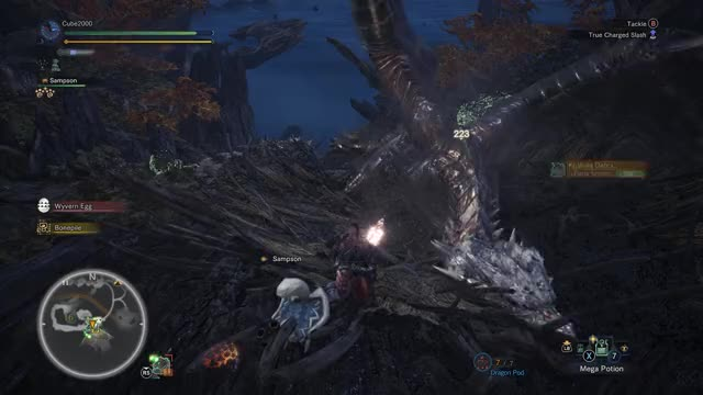 Watch and share Monster Hunter GIFs and Gaming GIFs by Cubetwok on Gfycat