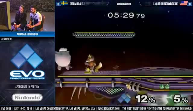 EVO 2016: [A] Armada Vs. TL | Hungrybox - Melee Grand Finals
