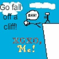 Watch and share Go Fall Off A Cliff! GIFs on Gfycat