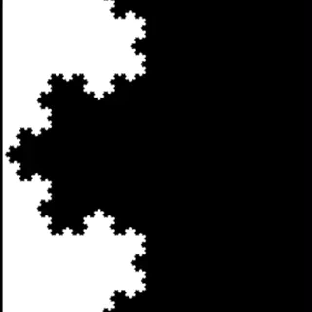 Watch and share Koch's Snowflake  ~ A Fractal Curve. #StopMotion ▲ GIFs by Daniel Baker on Gfycat