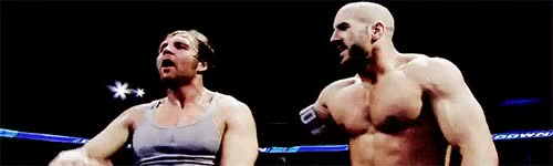 Watch the boss is here GIF on Gfycat. Discover more boughtin, bruckrumlow, cesaro, dean ambrose, gifs, starbrose, wwe, ~mine GIFs on Gfycat