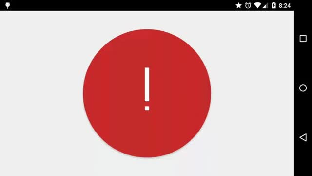 Watch and share Material Exclamation Mark To Check Mark Animation GIFs on Gfycat