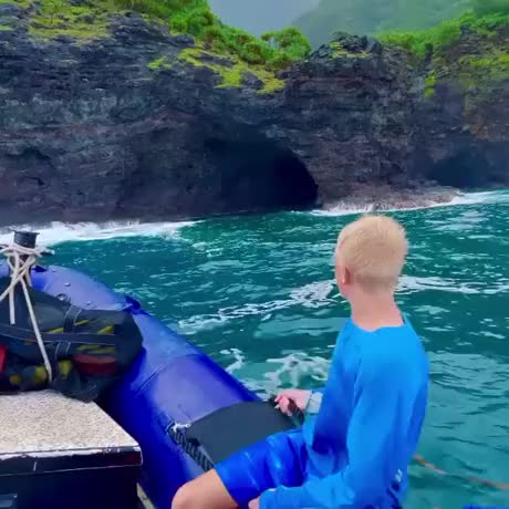 Cave in Hawaii