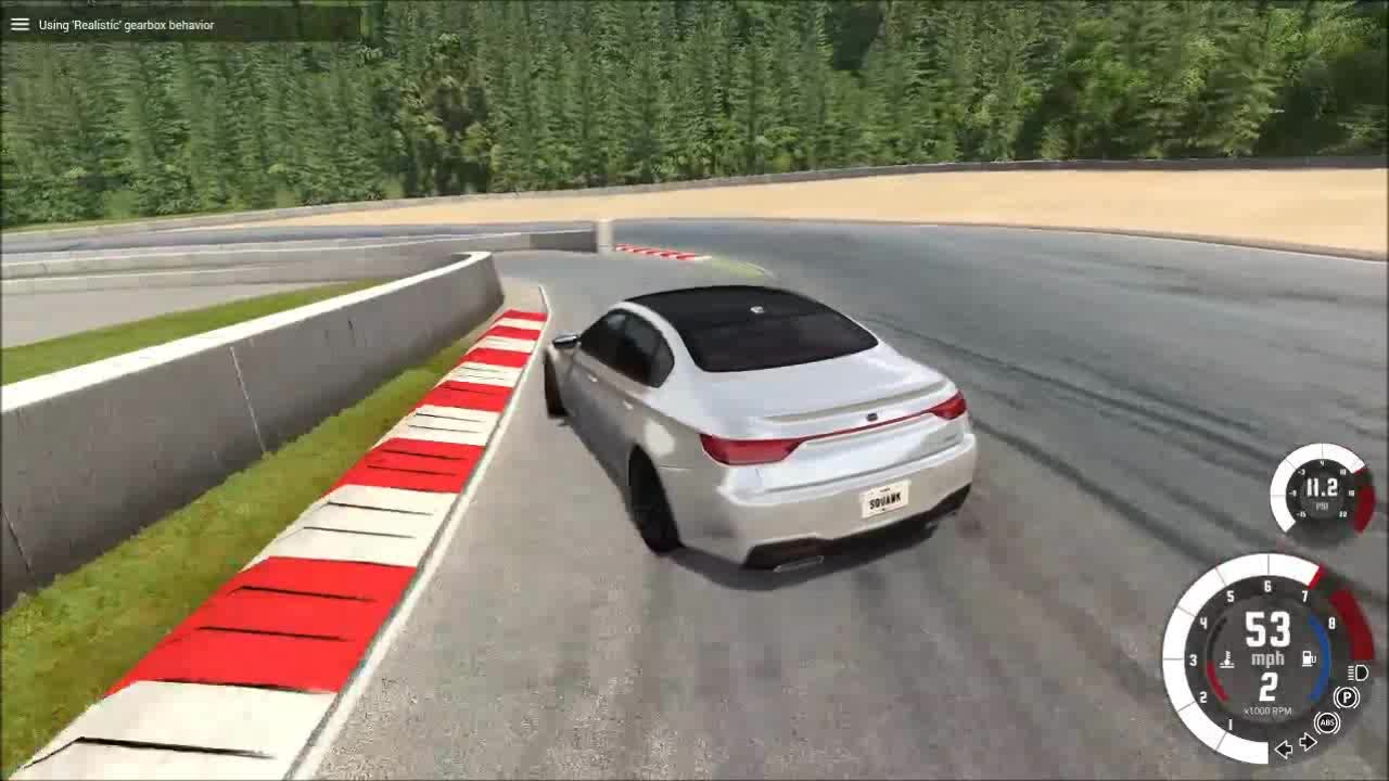 BeamNG, The proper way to pull into the pit (reddit) GIFs