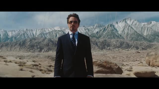 Iron Man - Jericho Missile Test