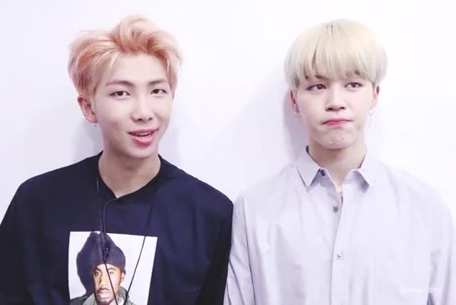 Watch this GIF on Gfycat. Discover more bts, celebs, kim nam-joon, rap monster GIFs on Gfycat