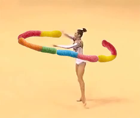 Watch and share Sour Brite Crawlers GIFs and Ribbon Dancer GIFs on Gfycat