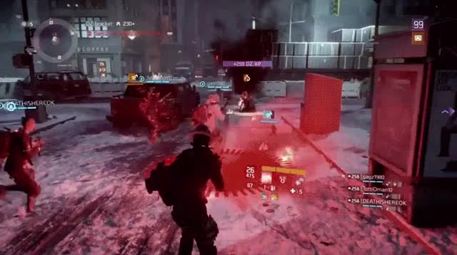 The Division - Sometimes, gear comes at you fast...