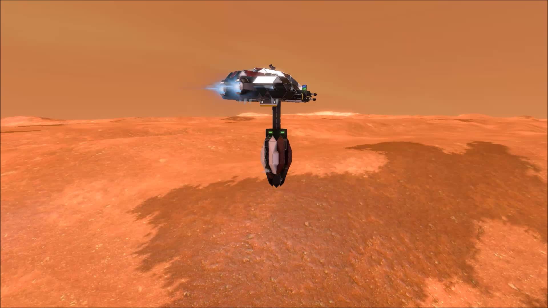 spaceengineers, Low Altitude Drop GIFs