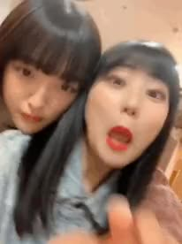 Watch and share Tashima Meru GIFs and Tanaka Miku GIFs by popocake on Gfycat