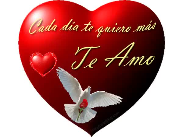 Watch and share Te Amo Dis animated stickers on Gfycat