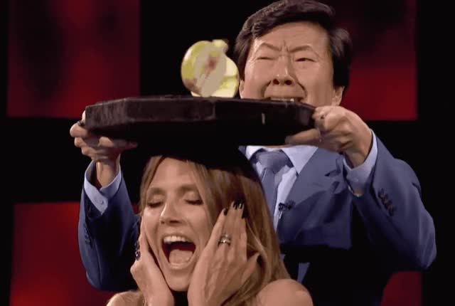 Watch this ken jeong GIF by GIF Queen (@ioanna) on Gfycat. Discover more aaron, agt, america, america's, apple, god, got, head, heidi, jeong, ken, klum, my, nbc, oh, omg, scared, scary, scream, talent GIFs on Gfycat