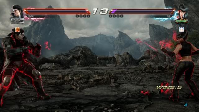 Watch and share Tekken7 GIFs by rairai on Gfycat