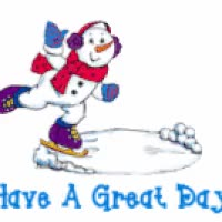 Watch HaveAGreatDaySnowmanSkating GIF on Gfycat. Discover more related GIFs on Gfycat