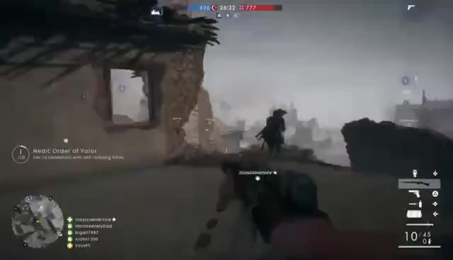 Watch and share Battlefield™ 1_20161020002850 GIFs on Gfycat