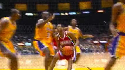 Watch and share Allen Iverson — Philadelphia 76ers GIFs by Off-Hand on Gfycat