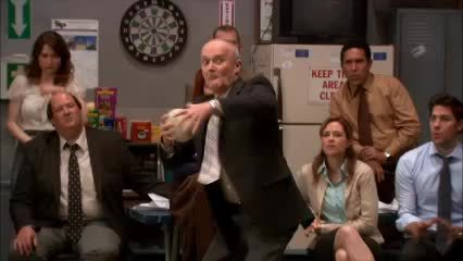 dundermifflin, Creed participates in the paper airplane contest (reddit) GIFs