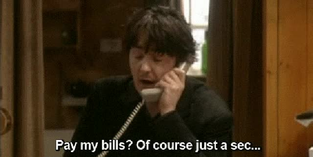 Watch and share Pay My Bills Gif GIFs on Gfycat