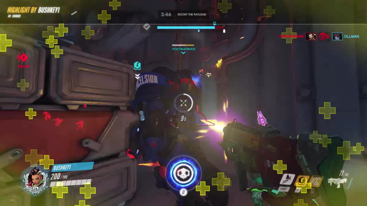 highlight, overwatch, hacked GIFs