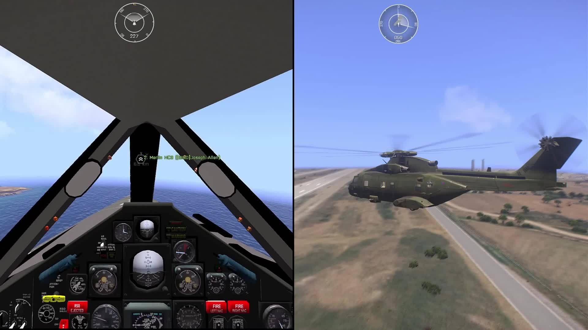 pcmasterrace, ARMA 3: Fly-by Side by Side GIFs