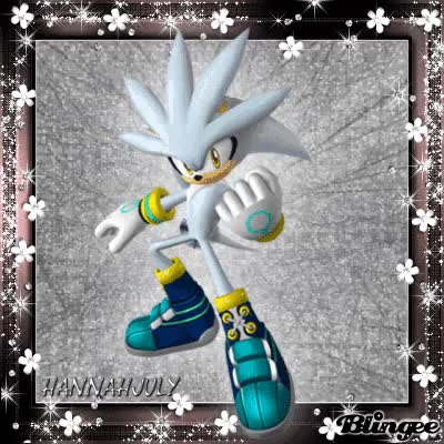 Watch and share Silver The Hedgehog GIFs on Gfycat