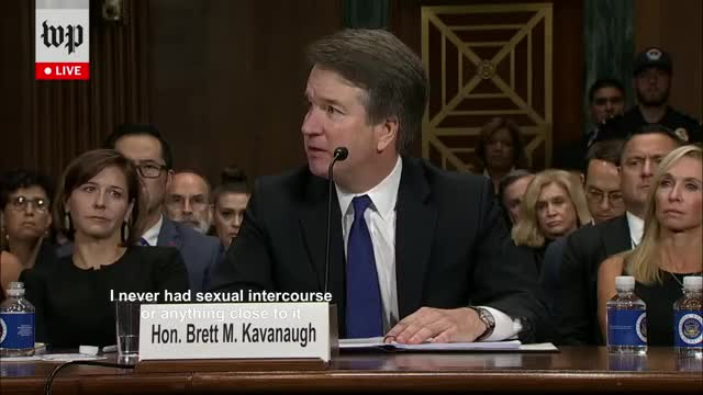 Watch and share Brett Kavanaugh GIFs and Self Own GIFs on Gfycat